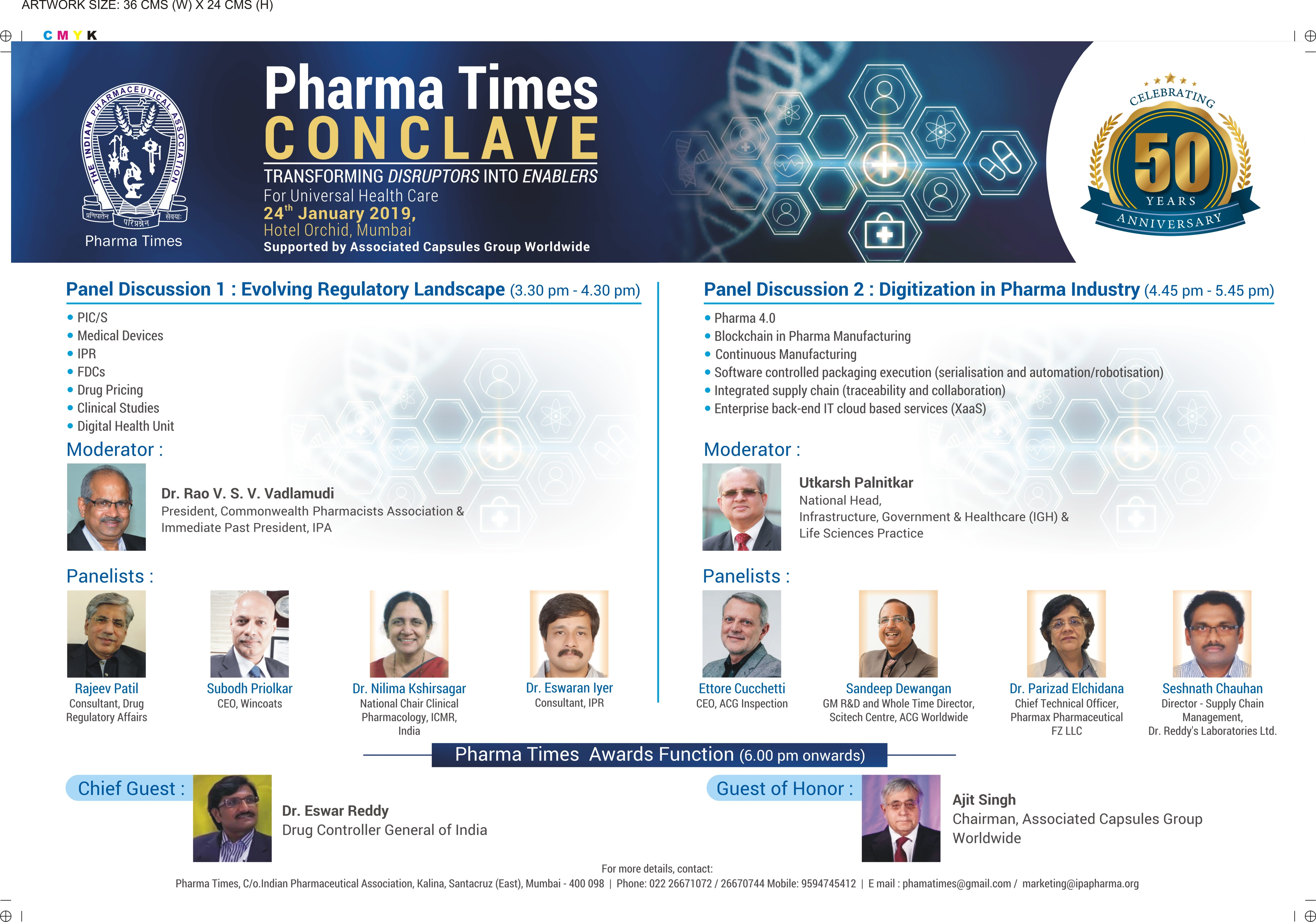 Events – Indian pharmaceutical association